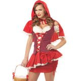 Sexy Red Women Costume