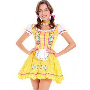 Sumptuous Beer Girl Oktoberfest Costume