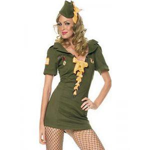 Female Military Costume
