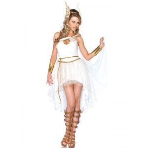 White One Size Sleeveless International Costume