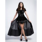 Black One Size Witch Long Halloween Costume