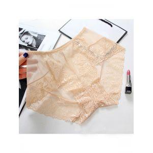 7 Colors One Size Floral Lace Panties
