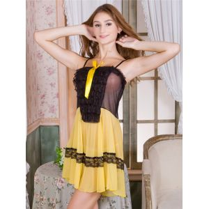 7 Colors One Size Sexy Lace Babydoll Lingerie
