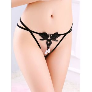 7 Colors One Size Open Front G-String Panties