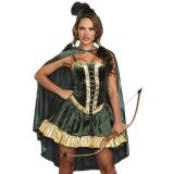Fashion Women Green Pirate Costume