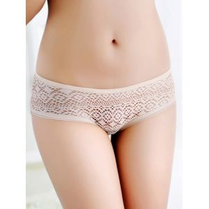 Apricot One Size Cut-Out hollow Panties