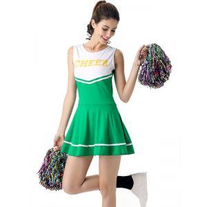 Green Sexy Women Sport Mini Dress