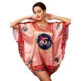 Sexy Batwing Sleeve Sleepwear Pink
