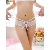 White One Size Sexy Transparent Women Panties