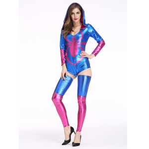 Blue One Size Spider halloween Costume