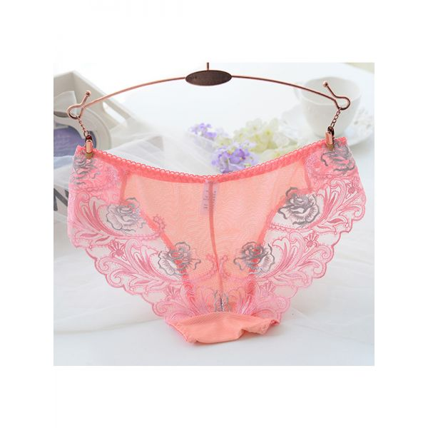 7 Colors One Size Lace Women Sexy Panties