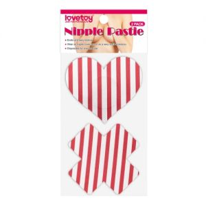 Cross and heart Nipple Pasties (2 Pack)