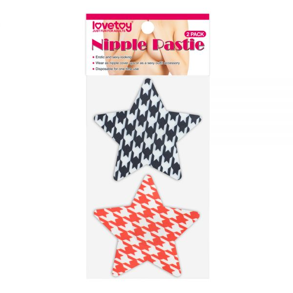 Stars Nipple Pasties (2 Pack)