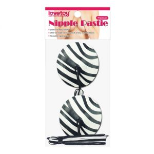 Reusable Zebra Round Tassel Nipple Pasties - СВЕЖИЕ ПОСТУПЛЕНИЯ!