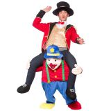 Blue One Size Beer Guy Ride On Clown Mascot Costume