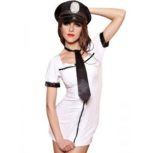 White One Size Sexy Coplay Sailor Costume