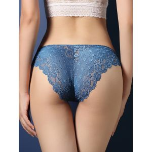 Blue One Size Lace hot Sexy Panties