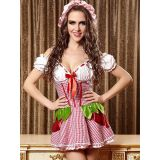 Pink M&L Lovely French Maid Costume