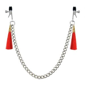 Tassel Nipple Clamp With Chain
