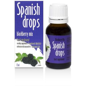 Stimulating drops of Spanish Drops Blackberry Mix (15ml)
