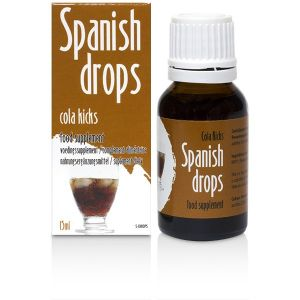 Drops exciting Spanish Cola Kicks Drops (15ml)