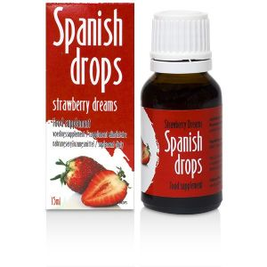 Stimulating drops of Spanish Drops Strawberry Dreams (15ml)
