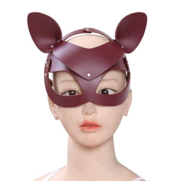BDSM (БДСМ) - Кожаная БДСМ маска лисы