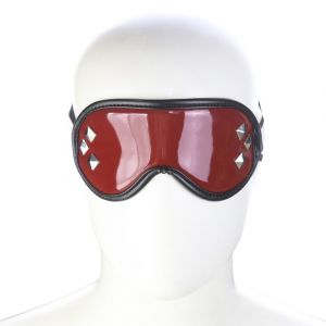 Red Bright Surface Leather Blinders