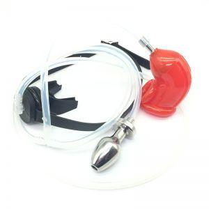 RECYCLER уринальная система OXBALL красный - Анальный душ