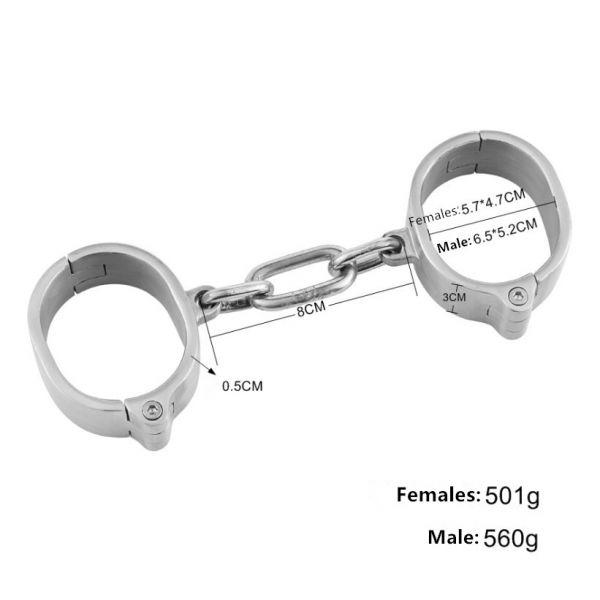 BDSM (БДСМ) - <? print Женские наручники из нержавеющей стали; ?>