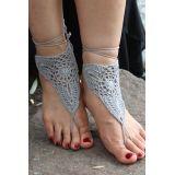 Серые пляжные сандалии по оптовой цене