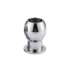 hollow Aluminum Anal Plug - L