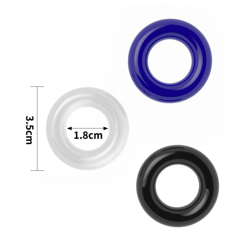 Power Plus Triple Donut Ring Set. Артикул: IXI58276
