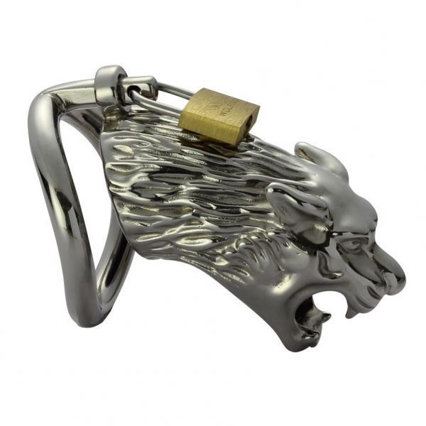 BDSM (БДСМ) - Latest Stainless Steel Male Chastity Device cocks Cage