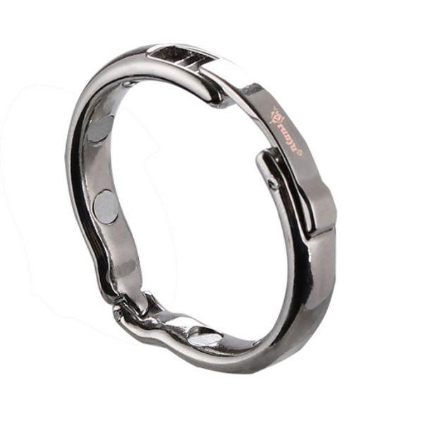 BDSM (БДСМ) - Male Metal Foreskin Correction Penis Ring Adjustable Glans Ring