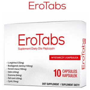 Pills for potency Ero Tabs - 10 capsules