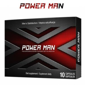 Таблетки для потенции Power Man - 10 capsules