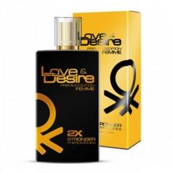 Феромоны для женщин Love&Desire Gold woman - 100ml по оптовой цене