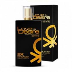 Феромоны для мужчин Love&Desire Gold men - 100ml по оптовой цене