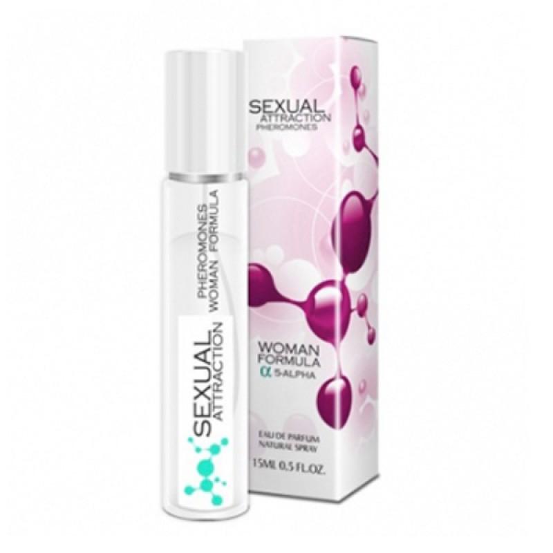 Pheromones sexual attraction Sexual Attraction Pheromones woman - 15ml