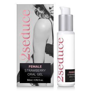 Oral gel 2Seduce Oral sex Gel - Strawberry (50ml)