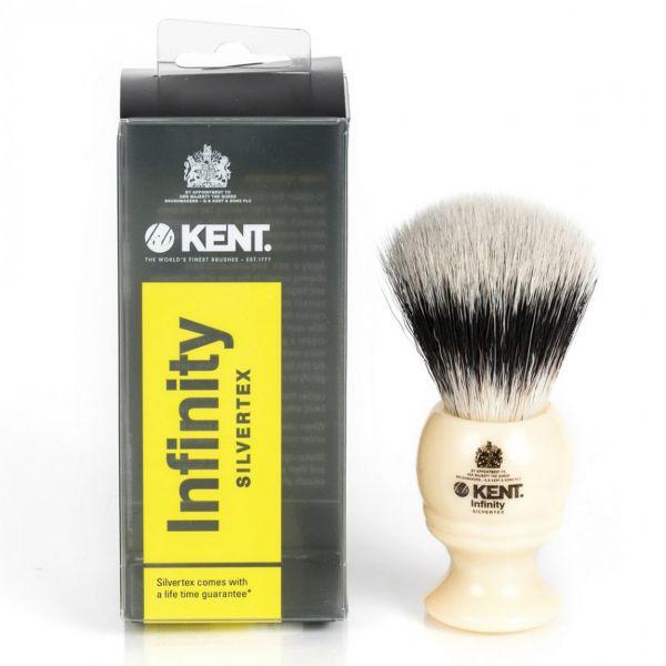 РАСПРОДАЖА! Кисть для бритья с синтетическим ворсом Kent Infinity