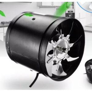 РАСПРОДАЖА! Вентилятор вытяжной черный 1080 m3/h (150мм)