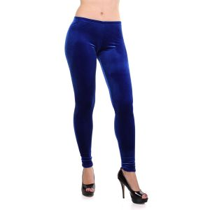 SALE! Blue velour leggings