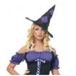 РАСПРОДАЖА! Шляпа колпак ведьмы на Хеллоуин - СВЕЖИЕ ПОСТУПЛЕНИЯ!