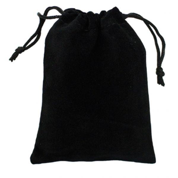 BDSM (БДСМ) - Бархатный мешочек для интим игрушек черный