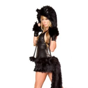 SALE! Fur costume carnival