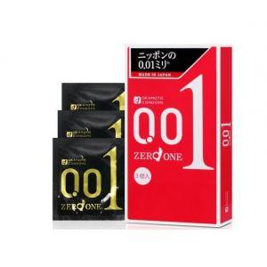 Презервативы ультратонкие Okamoto Zero One 0.01