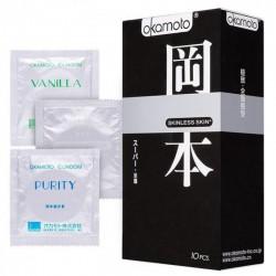 Презервативы ультратонкие Okamoto Mixed 3 Types