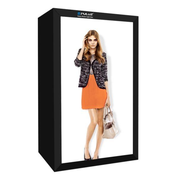 PULUZ 200cm Studio Box 6 Light Strip Bars 5500K White Light Photo Lighting Shooting Tent Kit Softbox